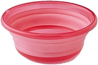 たためる 洗い桶 掃除?洗濯用 5L つけ置き洗い 洗いおけ つけ置き たらい 洗面器