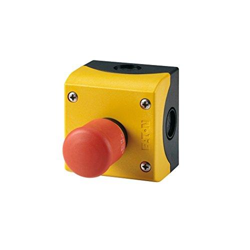 Eaton 216524 not-Halt/aus-Taste, D = 38 mm, Zugentriegelt, unbeleuchtet, 2 Öffner, Aufbau