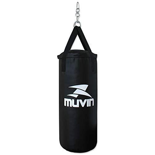Saco de pancada Muvin - Preto - 70x30-15 kg