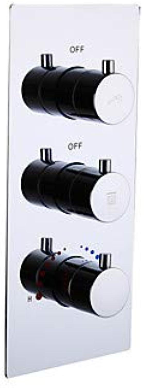 Wasserhahn Zubehr - Gehobene Qualitt - Moderne Messing Badezimmer Heies Und Kaltes Mischwasserventil - Fertig - Chrom