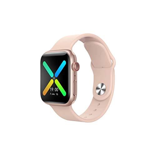 Relógio Smartwatch Bluetooth Inteligente IP67 à Prova D'água Tela 1,54 HD Zatla Shop (Branco) (Rosa)