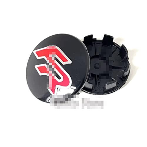 GAOJIA 63mm Negro Silver Coche Centro de Ruedas Caps Hub Compatible con Ibiza FR ATECA Altea XL Leon 2 ATECA FR Ibiza Alhambra (Color : B)