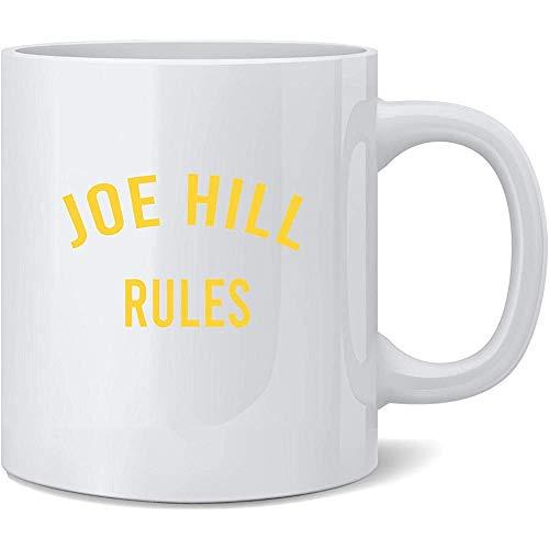 Joe Hill Reglas Libros de terror Disfraz divertido Taza de caf Tazas de caf Taza de t Regalo divertido de la novedad