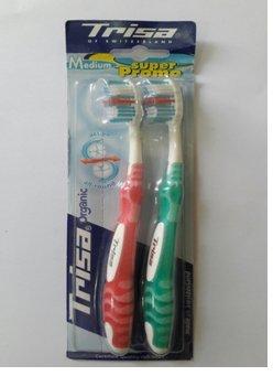 TRISA Sonic Power Complete Protection, elektrische handtandenborstel voor bijzonder efficiënte tandverzorging met geluid, oplaadbare accu met oplader, blauw