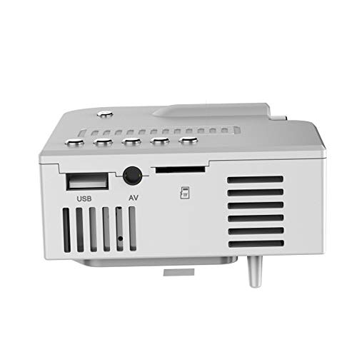 Beamer Projektor Elektrisch G28A Mini LED Projektor USB Hochauflösender ultraportabler PRO HDMI Mini-LED-Projektor Heimkino