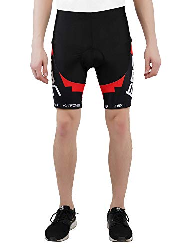 MYCYCOLOGY Men's Nuckily Cycling Gel Padded Shorts Medium Multi-Colour