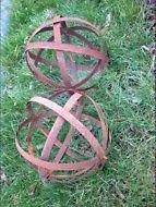 Garteninspiration 2 stuks decoratieve ballen