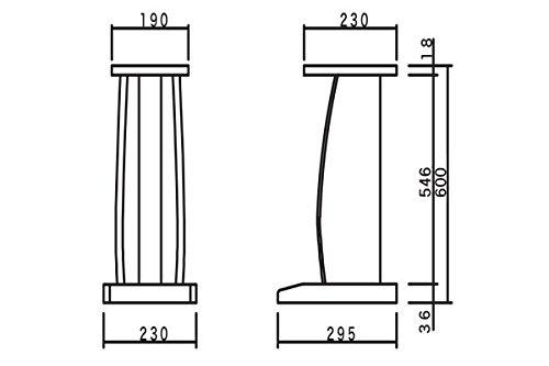 ハヤミ工産【TIMEZ】NXシリーズハイポジション/小型スピーカースタンド[2台1組]NX-B300T