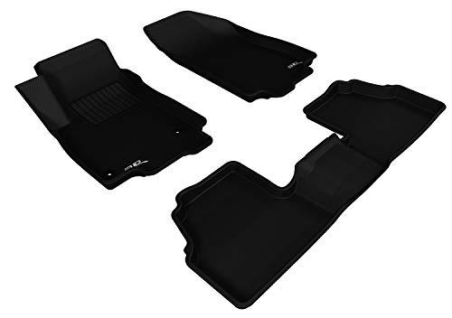 3D MAXpider Complete Set Custom Fit All-Weather Floor Mat for Select Encore Models - Kagu Rubber (Black)