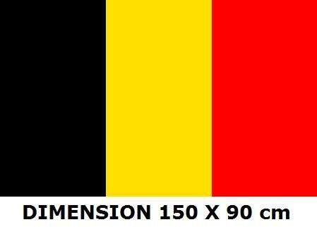 Drapeau Belgique - 150 x 90 cm