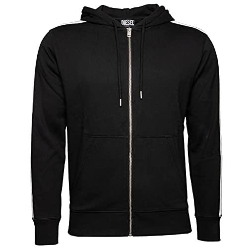 Diesel UMLT-BRANDON-Z Hooded Sweatshirt, 900/0tawi, M Uomo