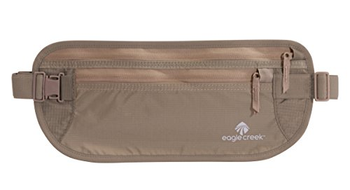 Eagle Creek Undercover Money Belt DLX Cartera para Pasaporte, 29 cm, 2 litros, Khaki