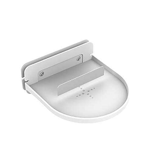 nulala wandhouder, wandhouder, badkamer, slaapkamer, ruimtebesparend design laadstation voor Echo Dot 2./3. Gen Google-luidspreker headsets mobiele telefoons wit