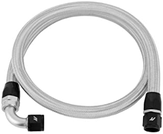 Mishimoto MMSBH-10-4 4ft Stainless Steel Braided Hose w/ -10AN Fittings, Silver