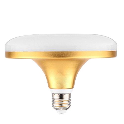 Bombillas E27 / E26 24W 48LED 5730SMD 2100-2350 LM Blanco cálido Blanco frío Lámpara UFO CA 220-240V Cambiar la bombilla LED (Size : Cold White)