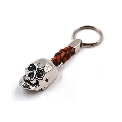 Schlüssel-Anhänger Totenkopf, Geschenk, Accessoire, ca. 9cm