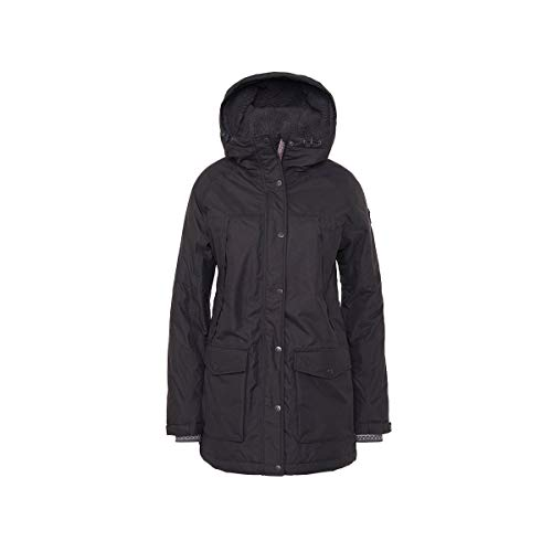 Varg Damen Are Eco Parka, Phantom Black, L