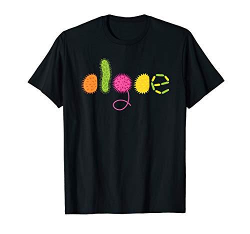 Kieselalge Einzeller-Organismus-Mikroskop Algen T-Shirt