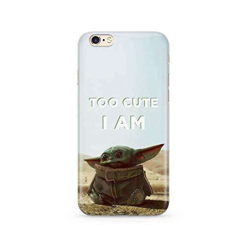 Original & Offiziell Lizenziertes Star Wars Baby Yoda Handyhülle für iPhone 6, iPhone 6S, Hülle, Hülle, Cover aus Kunststoff TPU-Silikon, schützt vor Stößen & Kratzern