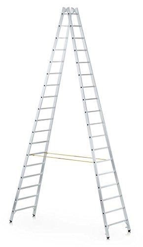 Zarges Z600 - Escalera de tijera (2 x 20 peldaños)