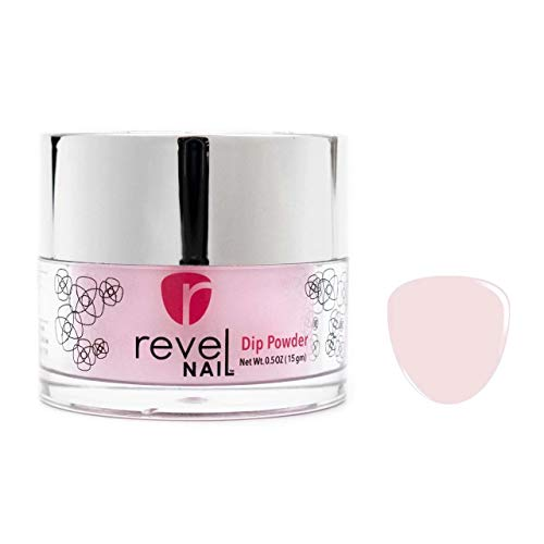 Revel Nail Dip Powder 1oz - D71 Scarlet (Flawless Pink)