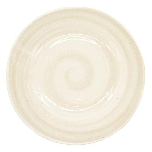 一久『刷毛目粉引カレー皿(126-0811)』