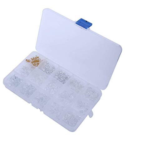 Walfront 15 Style 150 Paar Neue Nasenpads mit Gelkissen Biofeel mit Aufbewahrungsbox
