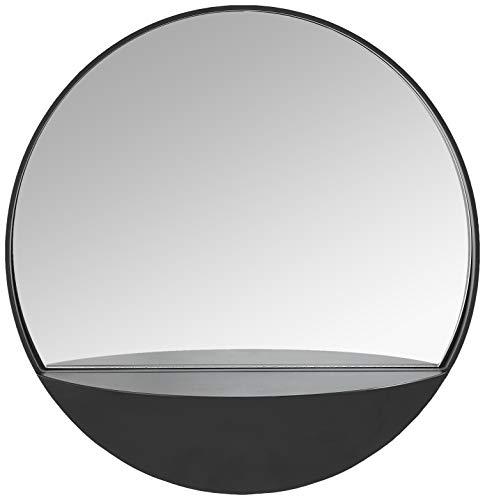 Amazon Brand - Rivet Modern Round Hanging Mirror with...