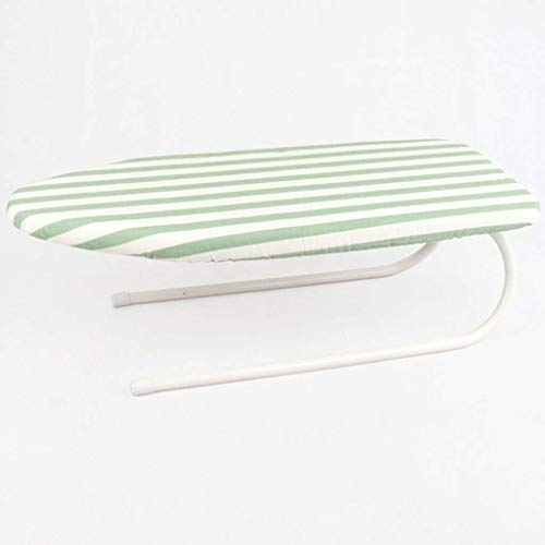 Muy conveniente Tabla de planchar portátil, T Tipo Escritorio Tabla de planchar robusta de acero del acoplamiento de la superficie de planchado Bastidores, apta for uso interior 78 * 32 * 24 CM sumini
