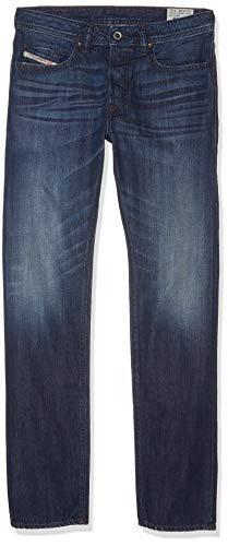Diesel Buster 0849B Pantalones Vaqueros de los Hombres (Azul, W38/L32)