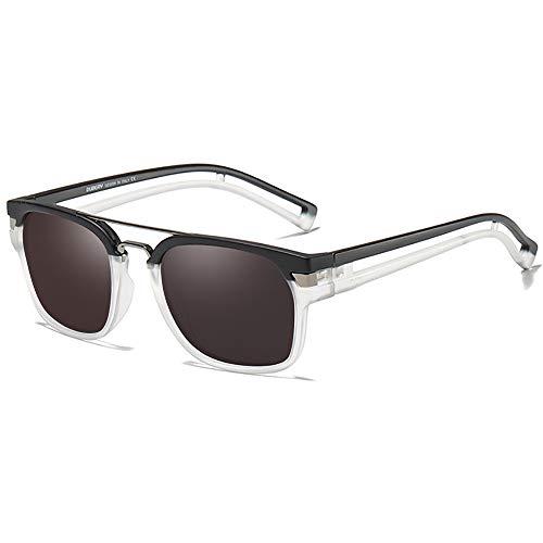 SHEEN KELLY Gafas de sol cuadradas polarizadas para hombres Mujeres Gafas de...