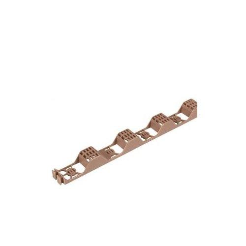 Suntuf 92770 Polycarbonate Plastic Horizontal Closure Strip, 2' L x 1-3/16' W x 7/8' H