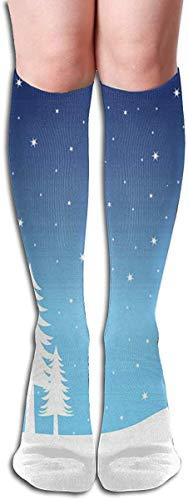 xinfub Socken Swans Woodland Glow Flies Stylish Womens Stocking Urlaub Socke Clearance für Mädchen Comfortable11132