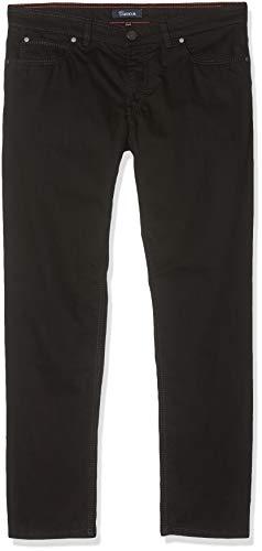 Atelier GARDEUR Herren Batu Straight Jeans, Black Denim 799, W36/L30 (Herstellergröße: 36/30)