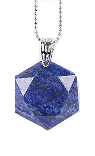 """Collar 'Etoile sello de Salomón""""o"""" Merkaba Lapis Lazuli"""