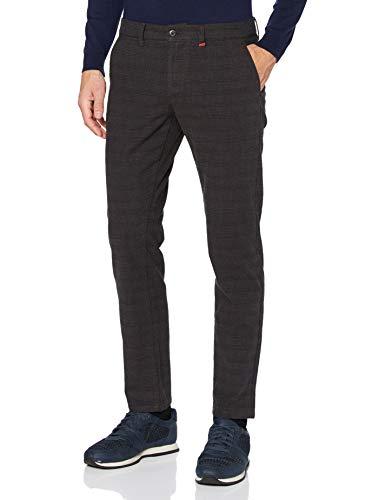 MAC Jeans Herren Lennox Hose, 290K deep Brown Check, 32/32