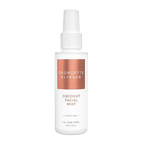 Coconut Facial Mist & Makeup Setting Spray by Georgette Klinger - Long Lasting Hydrating Toner Face Mist w/ Aloe Vera & Green Tea for All Skin Types