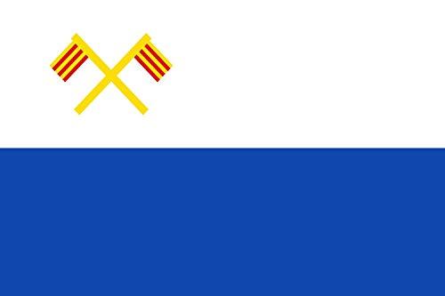 magFlags Bandera Large Vilajuïga, Gerona, España | Bandera Paisaje | 1.35m² | 90x150cm