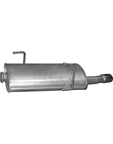 ETS-EXHAUST 1077 Silenziatore marmitta Posteriore pour KING CAB 2.4 2.5 D 2.7 D 4X4 HARD TOP 100//80//101hp 1986-1998