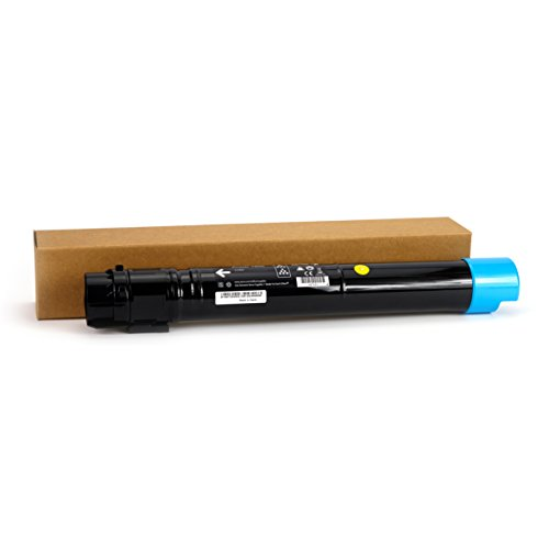 Professor Color Re-Coded OEM Toner Cartridge Replacement for Xerox Phaser 7800 7800DN 7800DX 7800GX | 106R01566 - High Yield Cyan (17,200 Pages)