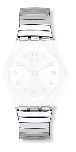 Swatch cinturino orologio SILVERALL large Originals Gent AGM416A - Default Title