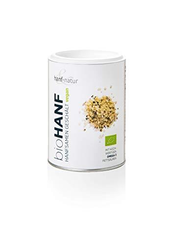 Hanf & Natur - Semillas de cáñamo descascarillado - Ecológico - 150 g