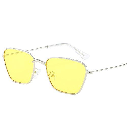 IRCATH Gafas de Sol Ojo de Gato Gafas de Sol para Mujer Lentes Cat Eye Trendy Rosa Gafas de Sol Adecuado para Golf, Ciclismo, Pesca Gafas de Sol-C3 Adecuado para Conducir en la Playa Se Puede Utiliza