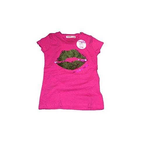 Desigual - TS Halifax - Camiseta Lentejuelas Reversibles - Mochila con Lentejuelas Reversible para NIÑA (14 AÑOS)