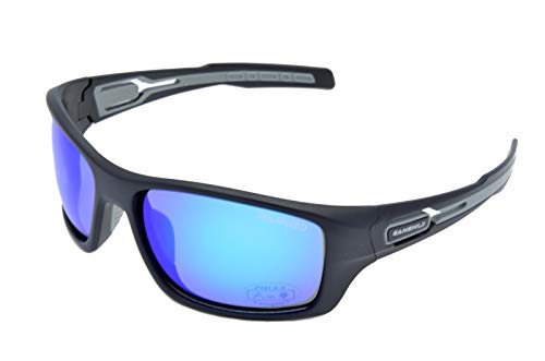 Gamswild WS8636 Sonnenbrille Sportbrille Skibrille Damen Herren Fahrradbrille Unisex   blau   grün-türkis   braun, Farbe: Blau