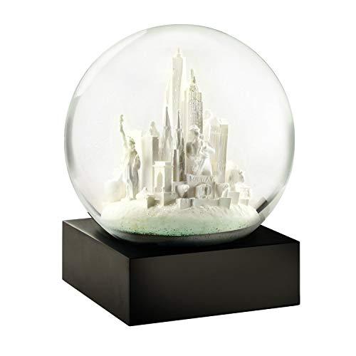 Cool Snow Globes Schneekugel NYC White 10cm