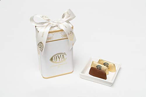 COVA MONTENAPOLEONE 1817(コヴァ モンテナポレオーネ) ジャンドゥイオッティ ホワイトボックス チョコレート 母の日 父の日 贈答用 お礼 ギフト お菓子 高級 手提げ付き 150g