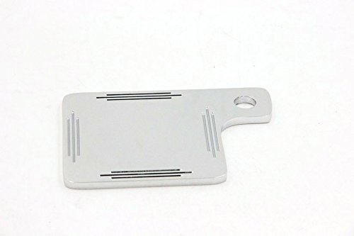 Motorcycle Universal Motorcycle Inspection Tag Sticker Renewal License Plate Chrome