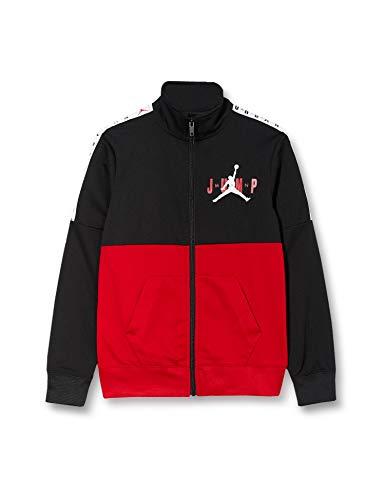Nike Jumpman Sideline Tricot Jacket Sportjacke für Kinder 2XL Schwarz