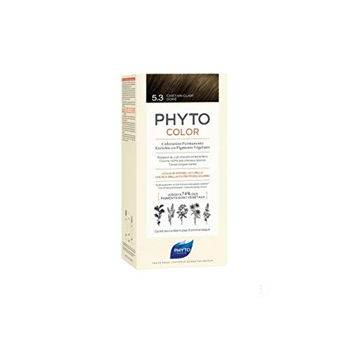 PHYTO PhytoColor Permanente Haarfarbe, 5.3 Light Golden Brown